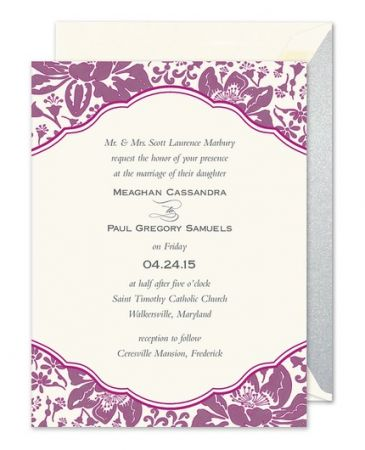 Berry Botanical Invitation