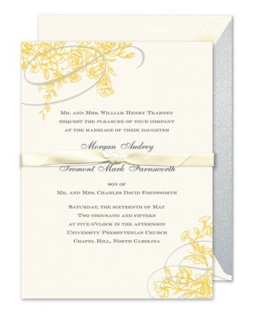 Floral Flourish Invitation