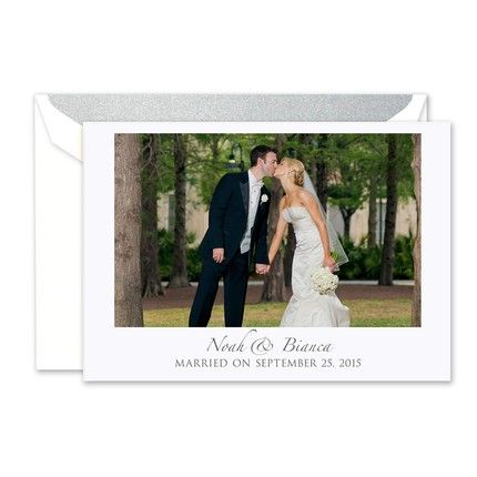 Photo Note Card