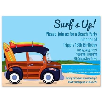 Surfin' Invitation