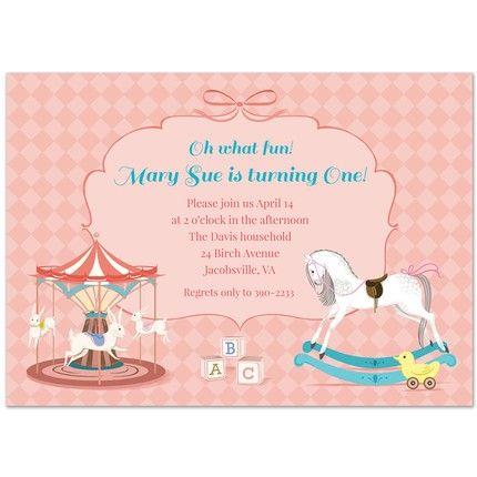 Children's Toys Invitation