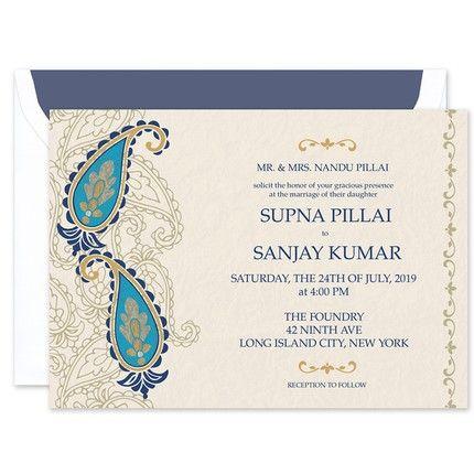 Kashmir Invitation