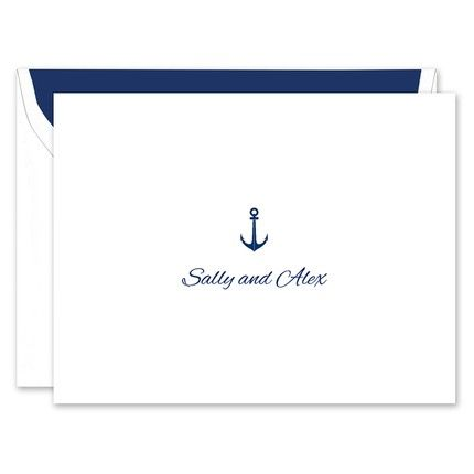 Anchor Note Card