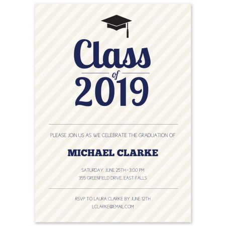 Grad Cap Invitation
