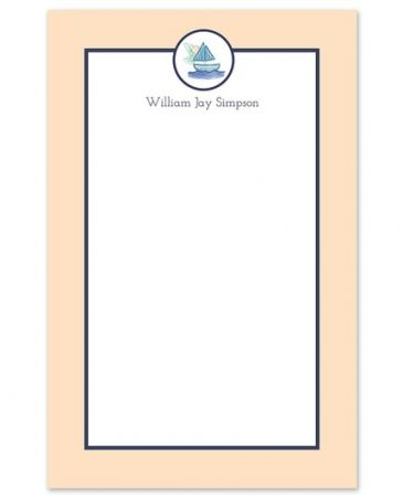 Sailboat Note Pad