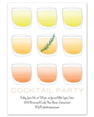 Tumblers Party Invitation