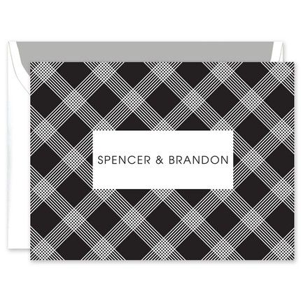 Checkers Note Card