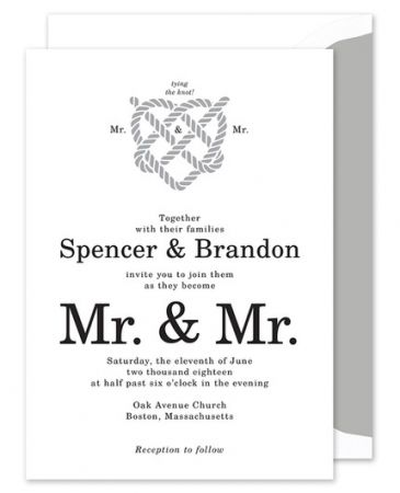 Tying the Knot Invitation