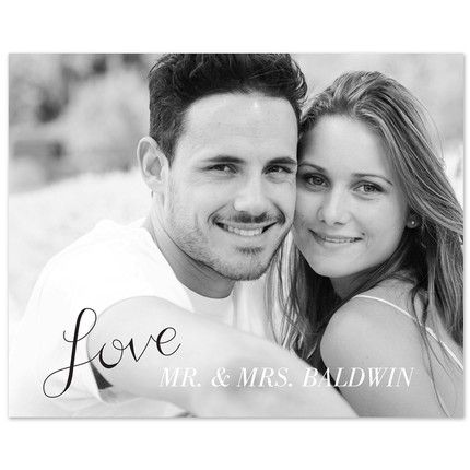 "8"" x 10""  Love Print"