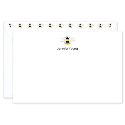 Bumble Bee Flat Card