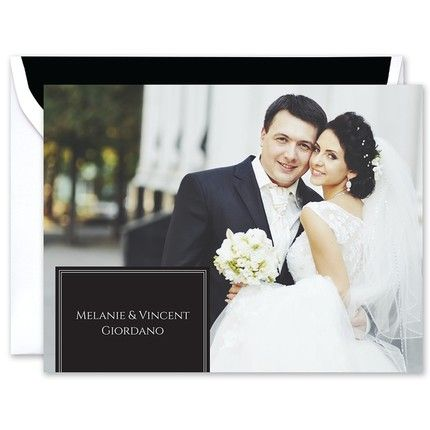 Classic Photo Note Card