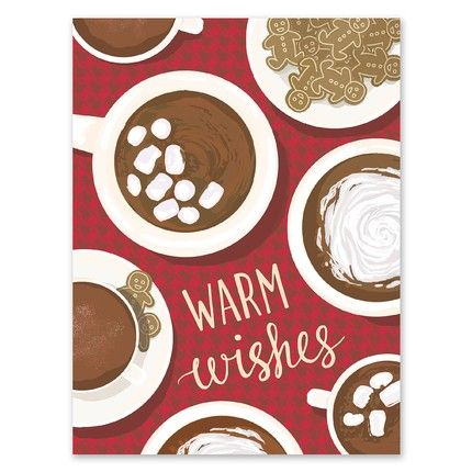Hot Cocoa Greeting Card