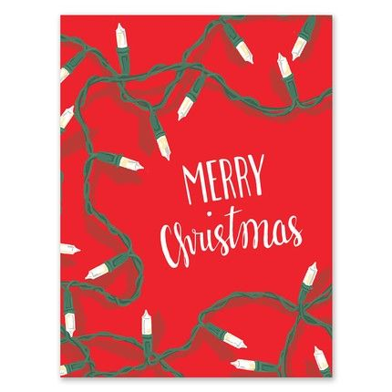 Festive Lights Greeting Card