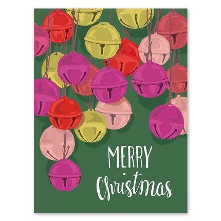 Jingle Bells Greeting Card