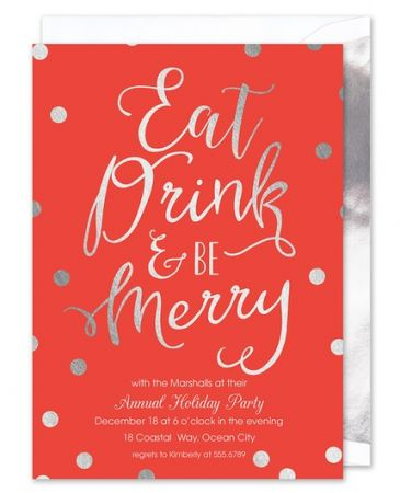 Merriment Invitation