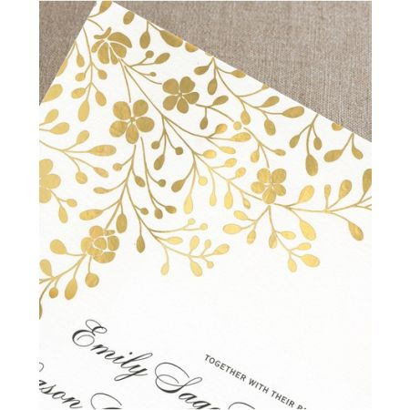 Floral Canopy Invitation