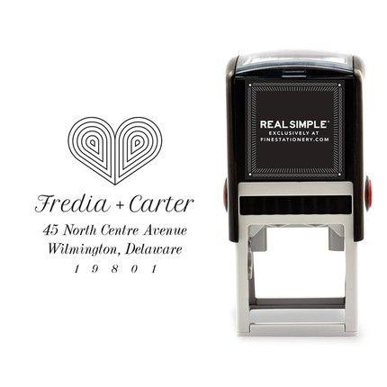 Deco Heart Stamp