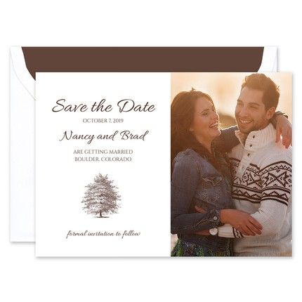 Tree Save the Date