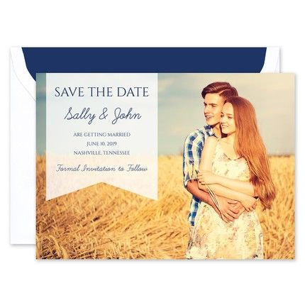 Sweet Banner Save the Date
