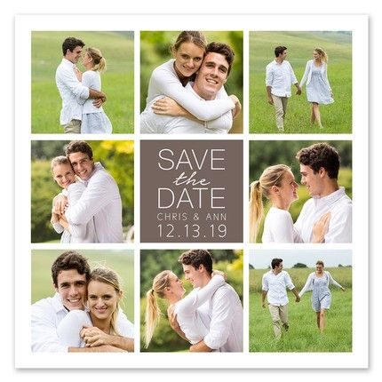 Cube Save the Date