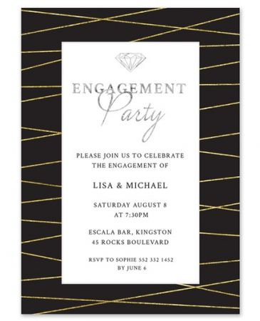 Sparkling Party Invitation
