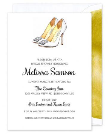 Bridal Heels Invitation