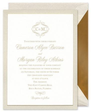 Opal Layered Invitation