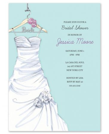 Lovely Dress Invitation
