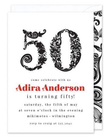 Fifty Invitation