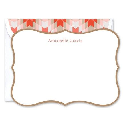 Cartouche Flat Card