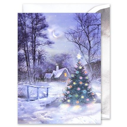 Quiet Night Greeting Card
