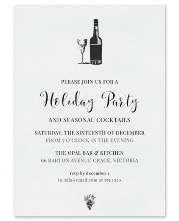Pinot Noir Invitation