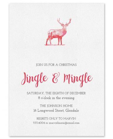 Red Deer Invitation