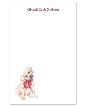 Puppy Love Note Pad