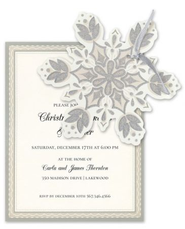 Nordic Tree Invitation