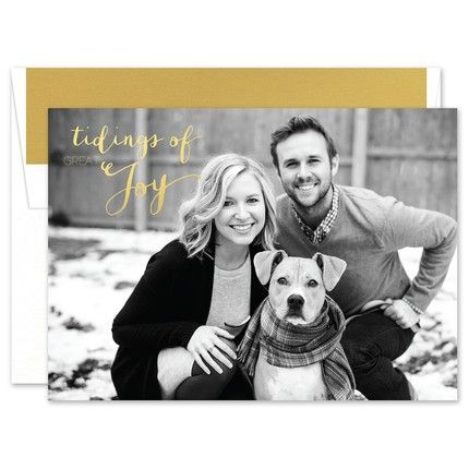 Joyful Tidings Photo Card