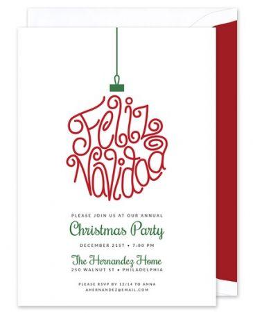 Navidad Invitation