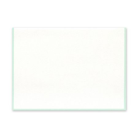 Seafoam Border Note Card
