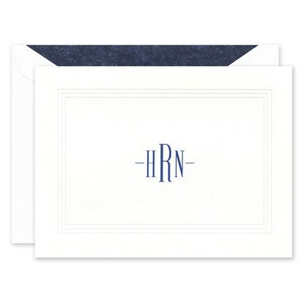 White Pantheon Note Card