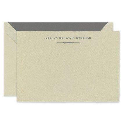 Imported Taupe Note Card