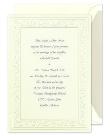 Pearl Hearts Invitation