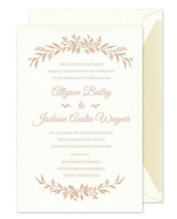 Wildflower Bliss Invitation