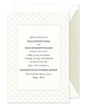 Romantic Glam Invitation