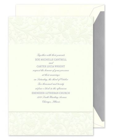 Garden of Pearls Invitation