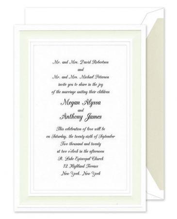 A Royal Frame Invitation