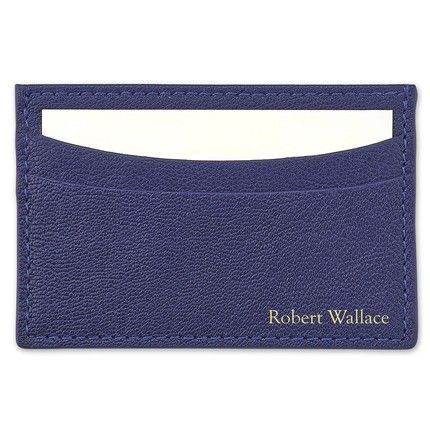 Indigo Business Card Holder