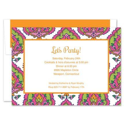 Cora Summer Invitation