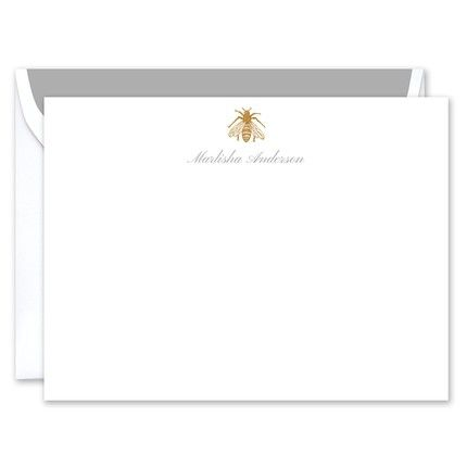 Geraldine Flat Card