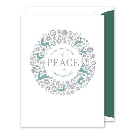 Peaceful Greeting Card