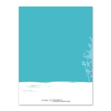 Snowfall Greeting Card